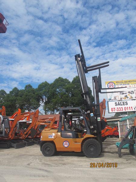 Sales & Rental of Forklifts