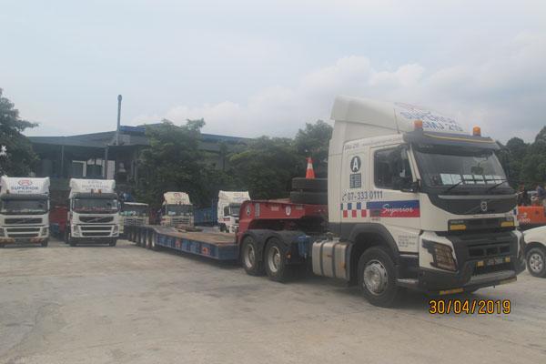Lorry Crane Transport-06
