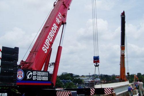 750 Ton & 300 Ton Crane